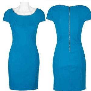 NWT T. Tahari dress in nautilus blue